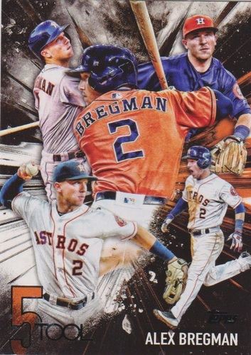 Photo of 2017 Topps Five Tool #5T47 Alex Bregman