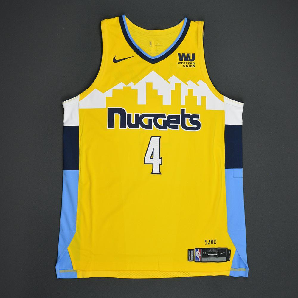 Paul Millsap - Denver Nuggets - Statement Game-Issued Jersey  - 2017-18 Season