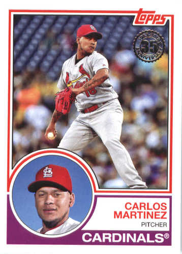 Photo of 2018 Topps '83 Topps #8312 Carlos Martinez
