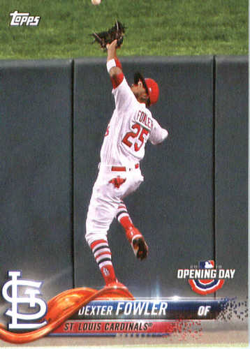 Photo of 2018 Topps Opening Day #95 Dexter Fowler