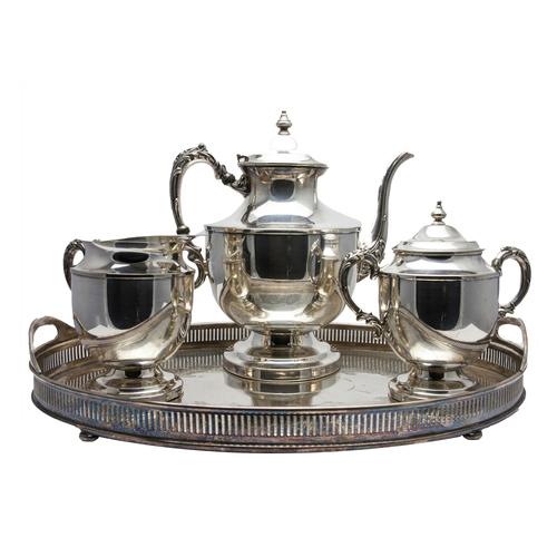Photo of Silver Tea Set