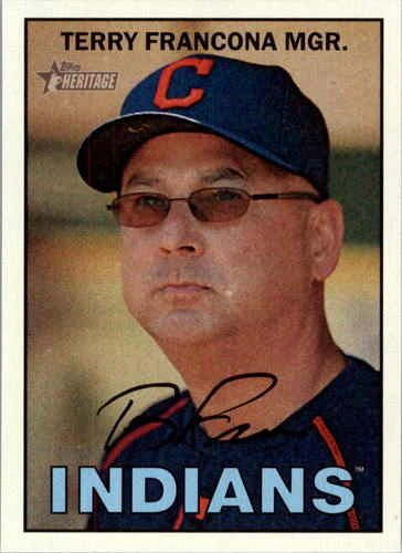 Photo of 2016 Topps Heritage #264 Terry Francona MG