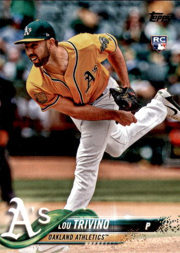 Photo of 2018 Topps Update #US144 Lou Trivino RC