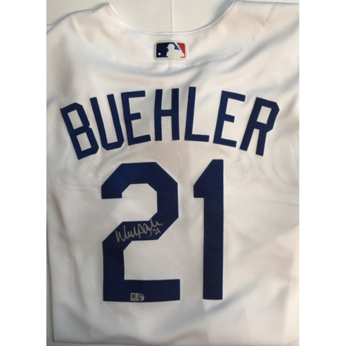Photo of Walker Buehler Autographed Authentic Dodgers Jersey