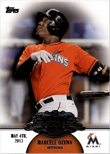 Photo of 2013 Topps Making Their Mark #MM29 Marcell Ozuna