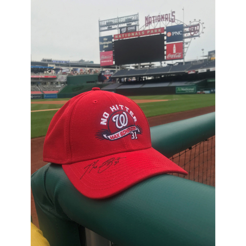 Photo of Max Scherzer Autographed Cap