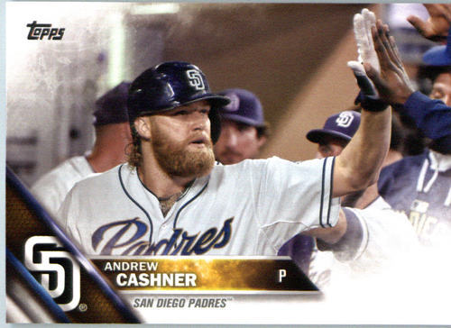 Photo of 2016 Topps #697 Andrew Cashner