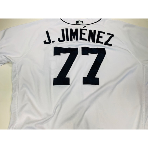 Photo of Game-Used Home Jersey: Joe Jimenez