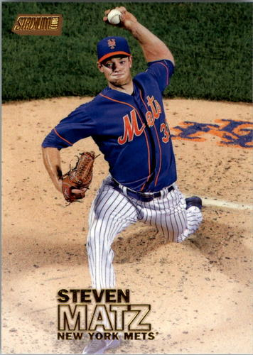 Photo of 2016 Stadium Club Gold #26 Steven Matz