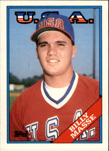 Photo of 1988 Topps Traded #67T Billy Masse OLY XRC