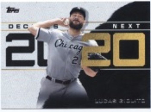 Photo of 2020 Topps Decade's Next #DN21 Lucas Giolito