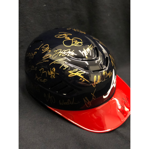 Photo of 2019 Team Autographed Helmet