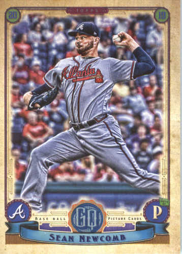 Photo of 2019 Topps Gypsy Queen #250 Sean Newcomb