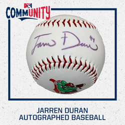 Photo of Jarren Duran Autographed Baseball