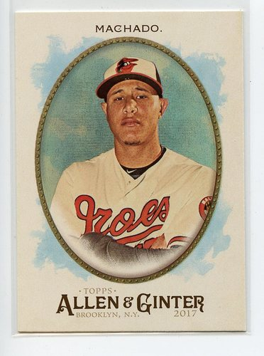 Photo of 2017 Topps Allen and Ginter Hot Box Foil #204 Manny Machado