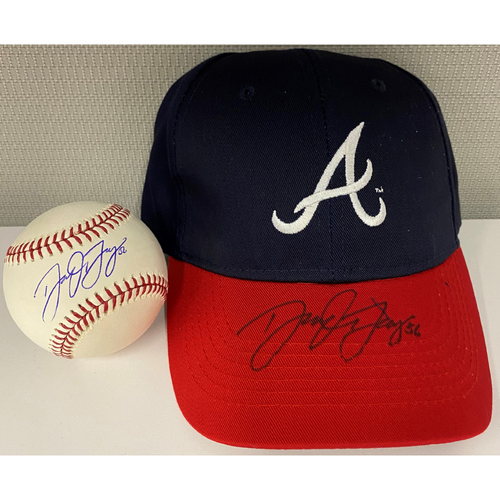 Photo of Darren O'Day Autographed Baseball and Hat Combo