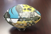 Jaguars Customized Artist Football Autographed by Logan Cooke