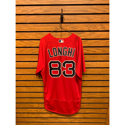 Photo of Nick Longhi Team Issued 2020 Nike Spring Training Jersey