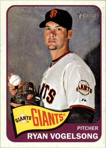 Photo of 2014 Topps Heritage #35 Ryan Vogelsong