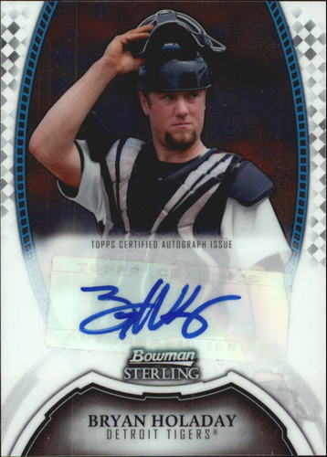 Photo of 2011 Bowman Sterling Prospect Autographs #BHO Bryan Holaday