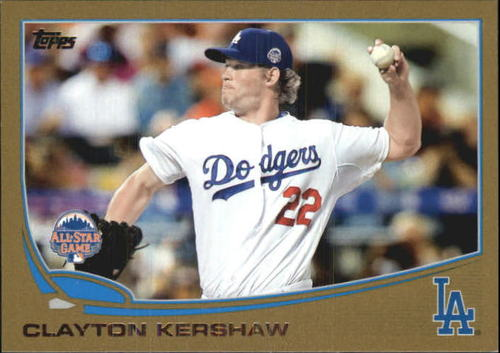 Photo of 2013 Topps Update Gold #US106 Clayton Kershaw