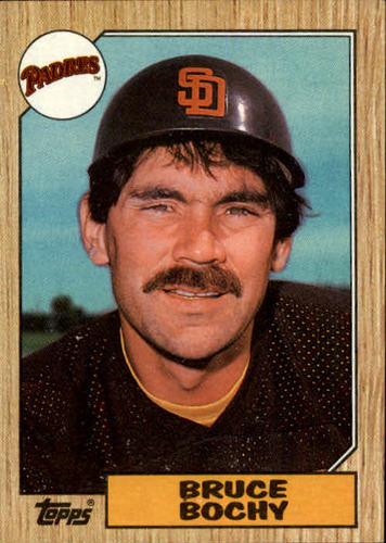 Photo of 1987 Topps #428 Bruce Bochy