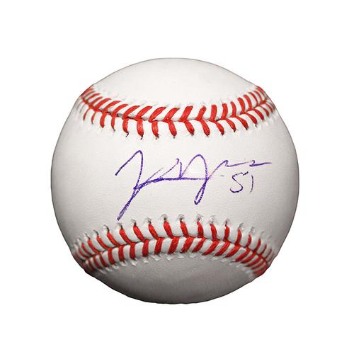 Jason Vargas Autographed Baseball