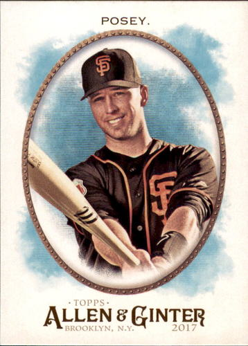 Photo of 2017 Topps Allen and Ginter #51 Buster Posey