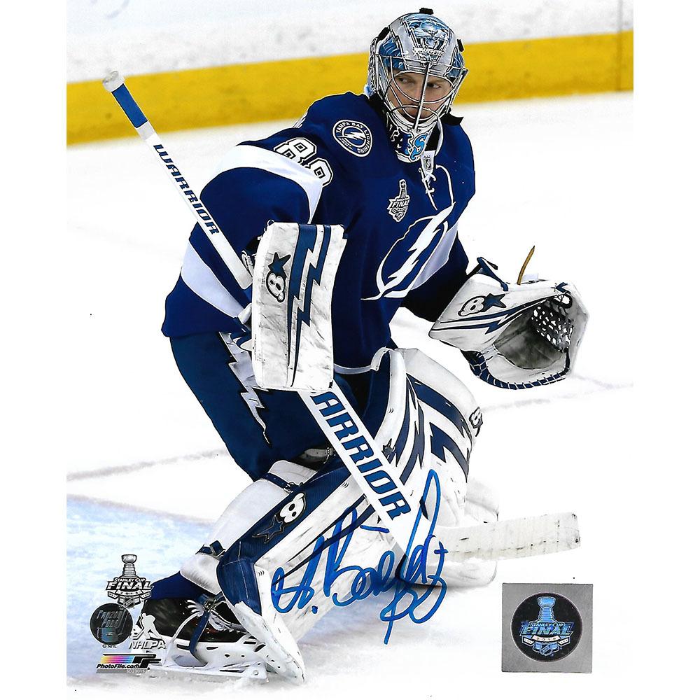 Andrei Vasilevskiy Autographed Tampa Bay Lightning 8X10 Photo