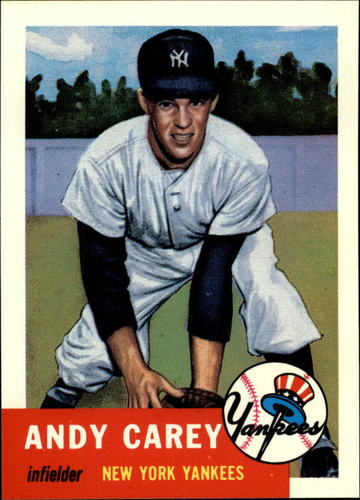 Photo of 1991 Topps Archives 1953 #188 Andy Carey