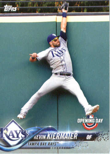 Photo of 2018 Topps Opening Day #97 Kevin Kiermaier