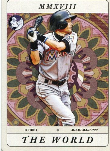 Photo of 2018 Topps Gypsy Queen Tarot of the Diamond #TOD21 Ichiro