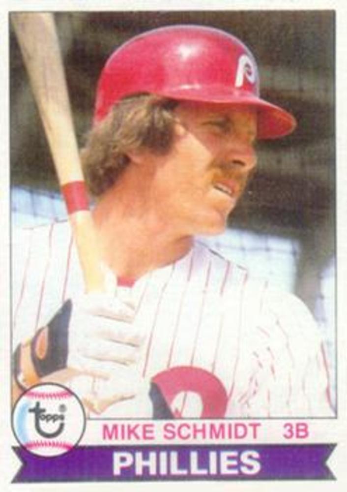 1979 Topps #610 Mike Schmidt -- Hall of Famer