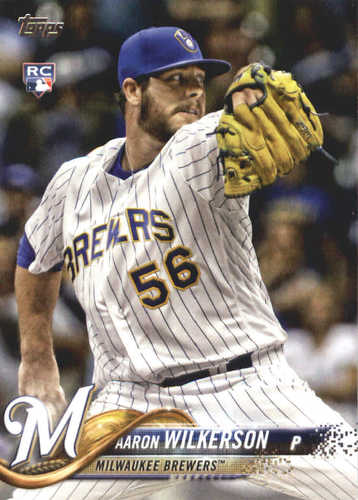 Photo of 2018 Topps #378 Aaron Wilkerson RC