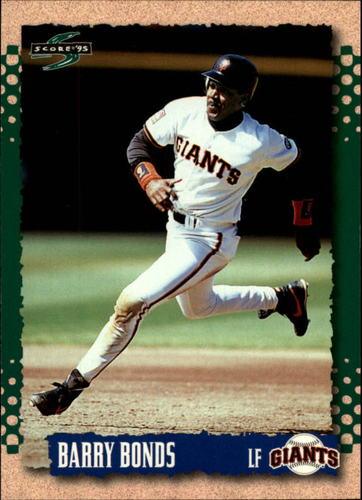 Photo of 1995 Score #30 Barry Bonds
