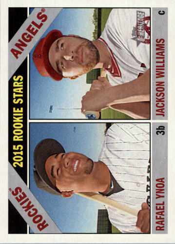Photo of 2015 Topps Heritage #306 Jackson Williams RC/Rafael Ynoa RC