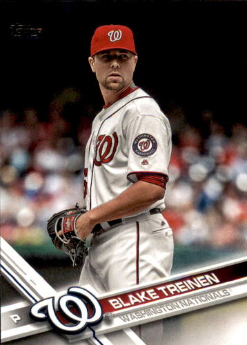 Photo of 2017 Topps #398 Blake Treinen RC