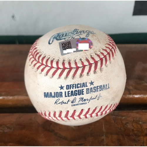 Photo of Cardinals Authentics: Game-Used Ball Pitched by Sam Tuivailala to Ehire Adrianza, Jake Odorizzi, Logan Morrison, and Brian Dozier *Single, Sac Bunt, Single RBI, Foul*