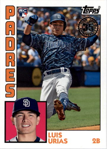 Photo of 2019 Topps '84 Topps #T8411 Luis Urias