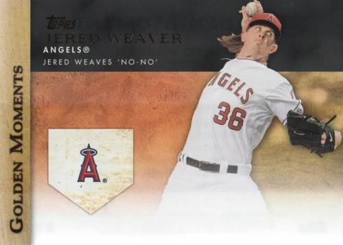 Photo of 2012 Topps Update Golden Moments #GMU3 Jered Weaver