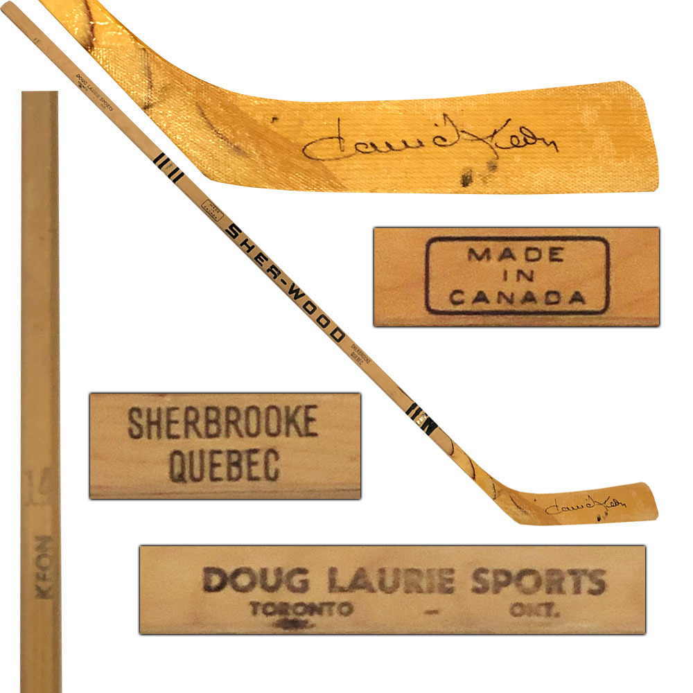 Dave Keon Autographed Sher-Wood Classic Keon-Model Hockey Stick