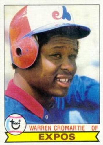 Photo of 1979 Topps #76 Warren Cromartie