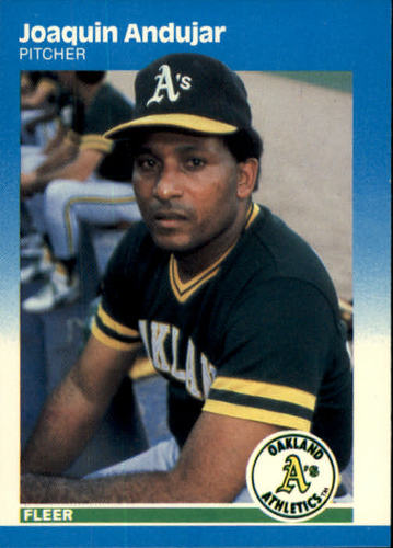 Photo of 1987 Fleer #385 Joaquin Andujar