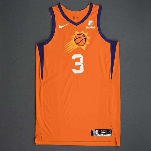 Image of Kelly Oubre Jr. - Phoenix Suns - Game-Worn Statement Edition Jersey - Scored Team-High 23 Points - 2019-20 Season