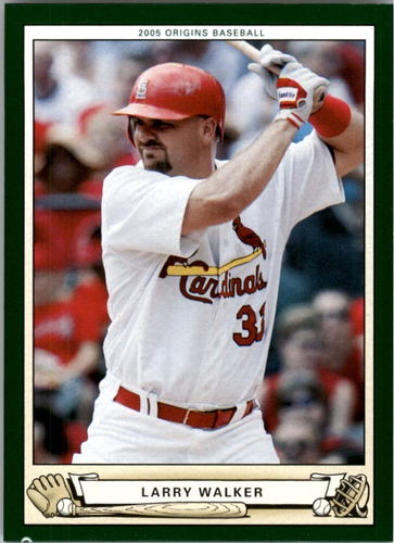 Photo of 2005 Origins #59 Larry Walker