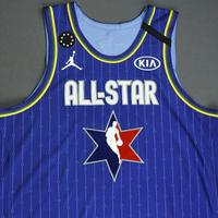 LeBronJames - 2020 NBA All-Star - Game-Worn Jersey Charity Auction - Team LeBron - 1st and 2nd Quarter - NBA Record 16th All-Star Game Start