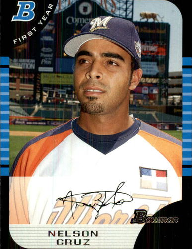 Photo of 2005 Bowman Draft #165 Nelson Cruz FY RC