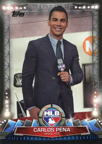 Photo of 2017 Topps MLB Network #MLBN16 Carlos Pena