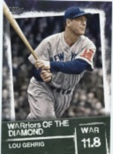 Photo of 2020 Topps Warriors of the Diamond #WOD8 Lou Gehrig