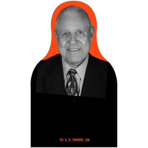 Photo of Giants Community Fund: Giants Lon Simmons Cutout